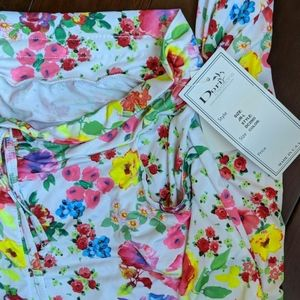 Dori Creations New with tags beach pool cover up L